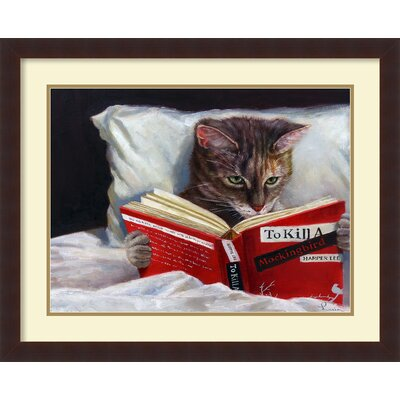 Late Night Thriller by Lucia Heffernan Framed Painting Print