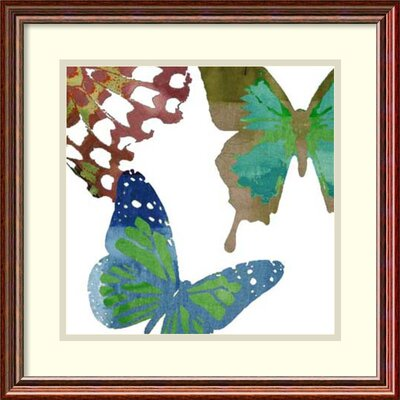 Scattered Butterflies II by Sisa Jasper Framed Painting Print DSW1418538