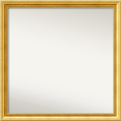 Townhouse Gold Mirror Size: 31.38