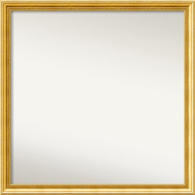 Townhouse Gold Mirror Size: 36.38