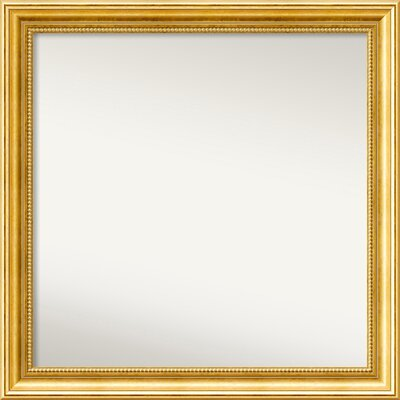 Townhouse Gold Mirror Size: 24.38