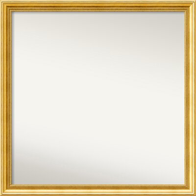 Townhouse Gold Mirror Size: 34.38