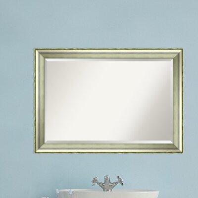 Rectangle Curved Bathroom Mirror Size: 29