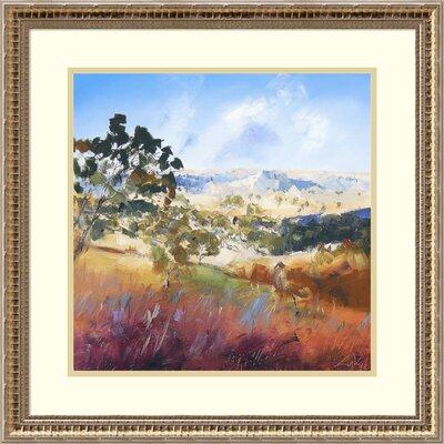 'King Valley' Framed Print on Wood