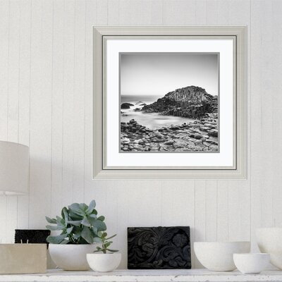'The Giant's Causeway' Framed Photographic Print on Wood