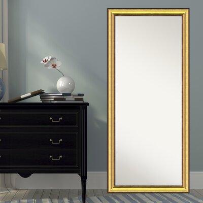 Verano Burnished Wood Full Length Mirror