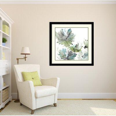 'Summer Greens' Framed Print on Wood