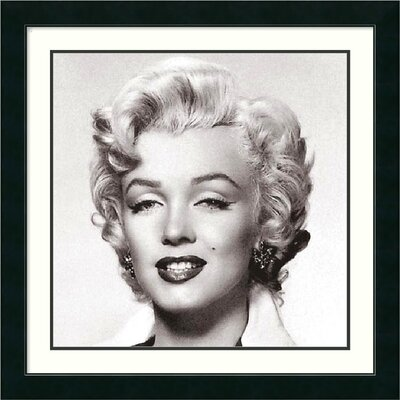 'Marilyn Monroe Portrait' by Anonymous Framed Photographic Print