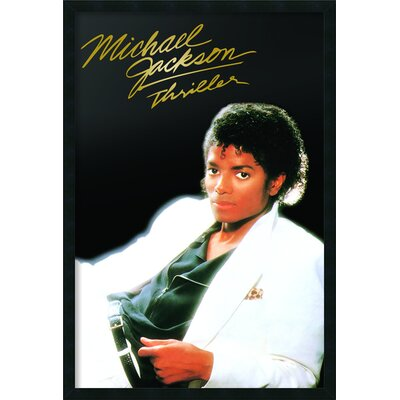 Michael Jackson Thriller Album Framed Photographic Print