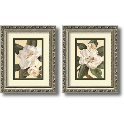 'Magnolias' Framed Graphic Art