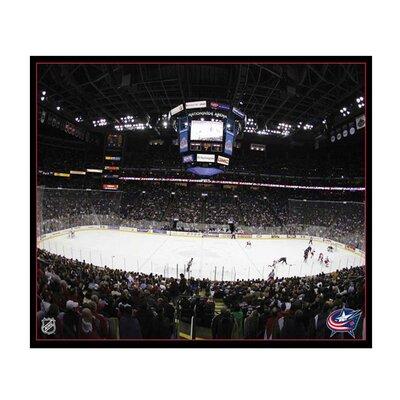 "Nhl Arena Photographic Print On Canvas Size: 16"" X 20"" X 2"", Nhl Team: Nashville Predators"