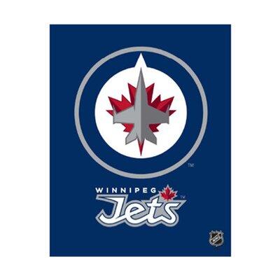 Winnipeg Jets Logo Graphic Art On Canvas Nhl Team: Winnipeg Jets
