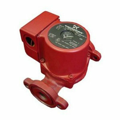 1/12 HP 115V 1-Speed Cast Iron Circulator Pump