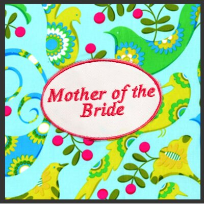 Mother Of The Bride Apron Print-sienna