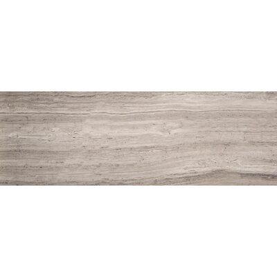 Metro 8 x 36 Limestone Field Tile in Vein Cut Honed Gray