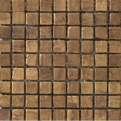 Treasure 0.6 x 0.6 Travertine Mosaic Tile in Santa Cecilia