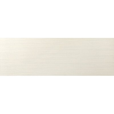 Strands 12 x 3 Horizontal Bullnose Tile Trim in Pearl