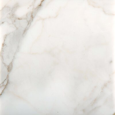Natural Stone 18 x 18 Marble Field Tile in Calacata Oro