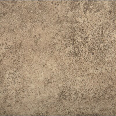 Toledo 7 x 7 Ceramic Metal Look Field Tile in Noce
