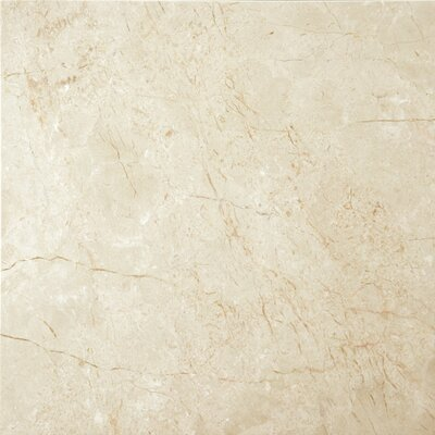 Marble 24 x 24 Field Tile in Crema Marfil