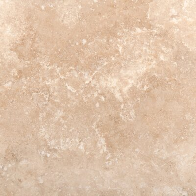 Travertine 18 x 18 Filled and Honed Field Tile in Ivory Classic
