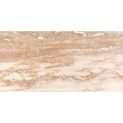 Travertine 16 x 32 Filled and Honed Field Tile in Dore Select