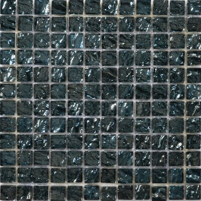Vista Celotto 12 x 12 Glass Mosaic Tile in Blue