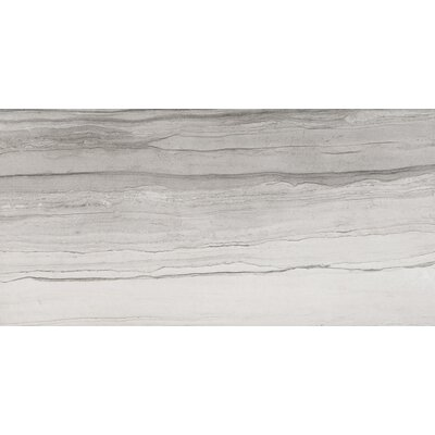 Motion Drift 19 x 39 Porcelain Field Tile in Walnut