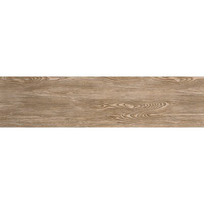 Alpine 6 x 36 Porcelain Wood-Look Plank Tile in Amaretto