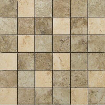 Lucerne 2 x 2/13 x 13 Porcelain Mosaic Tile in Blend