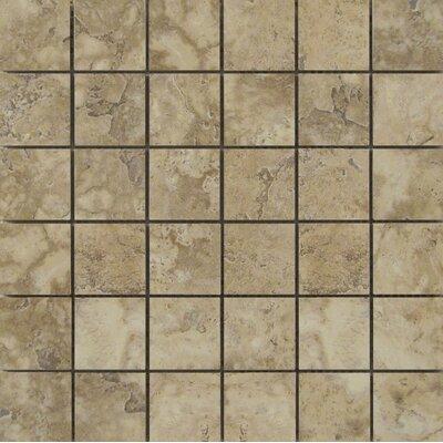 Lucerne 2 x 2/13 x 13 Porcelain Mosaic Tile in Pilatus