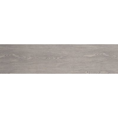 Alpine 6 x 36 Porcelain Wood-Look Plank Tile in Foam