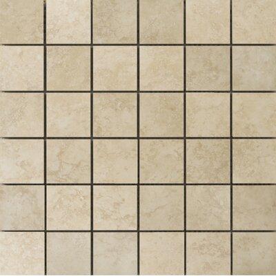 Odyssey 2 x 2/13 x 13 Ceramic Mosaic Tile in Beige