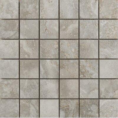 Lucerne 2 x 2/13 x 13 Porcelain Mosaic Tile in Matterhorn
