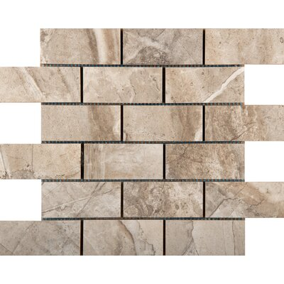 Eurasia 2 x 4/13 x 13 Porcelain Tile in Cafe Mosaic