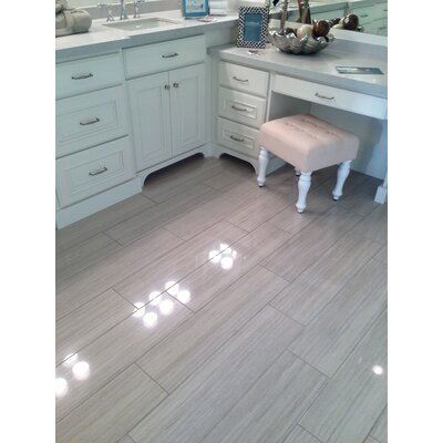 Peninsula 16 x 32 Porcelain Field Tile in Sibley Honed