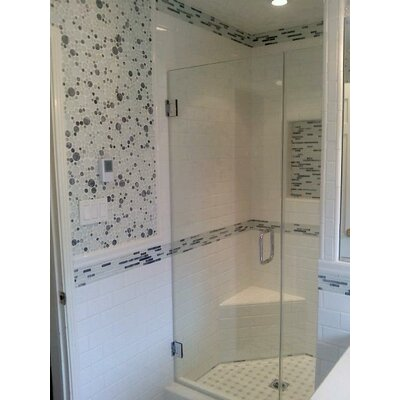Semplice 2 x 2 Ceramic Bullnose Tile Trim in Glossy White
