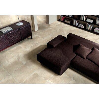 St. Moritz ll 18 x 18 Porcelain Field Tile in Cotton