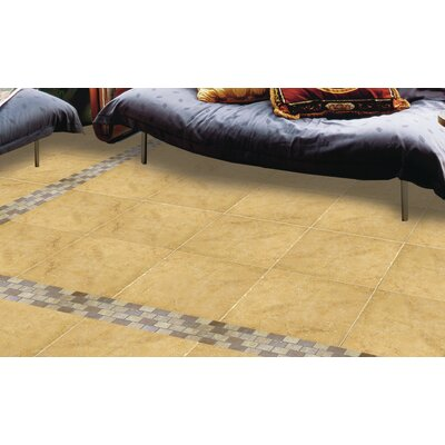 Genoa 6 x 1 Porcelain Cove Base Corner Out Tile Trim in Luca