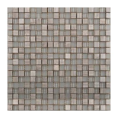 Lucente Glass Mosaic Tile in Certosa