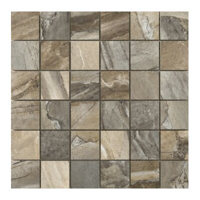 Eurasia 2 x 2/13 x 13 Porcelain Mosaic Tile in Blend