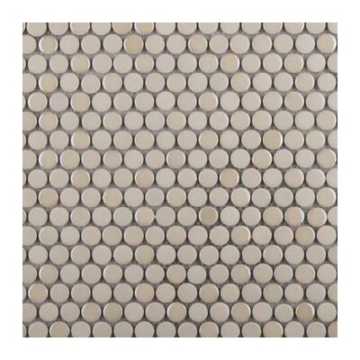 Confetti Porcelain Penny Mosaic Tile in Glazed Advance