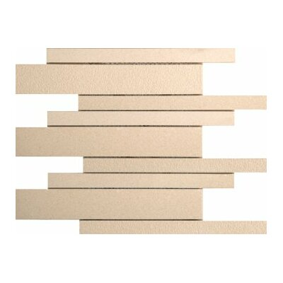 Direction Porcelain Linear Mosaic Tile in Magnitude