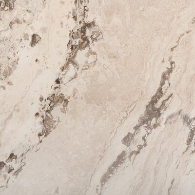 Pergamo 13 x 13 Porcelain Field Tile in Beige