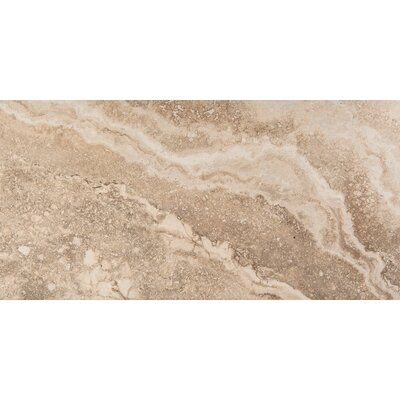 Homestead 12 x 24 Porcelain Tile in Cream
