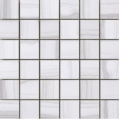 Chronicle 2 x 2/12 x 12 Porcelain Tile in Memoir Mosaic