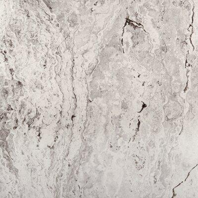 Pergamo 13 x 13 Porcelain Tile in Bianco