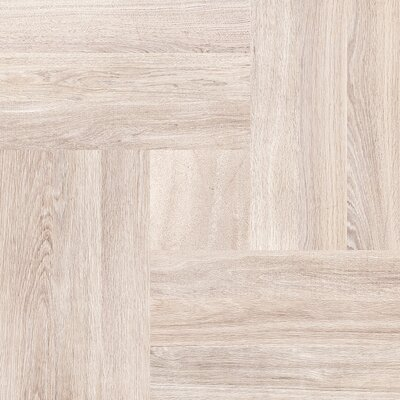 Parquet 20 x 20 Porcelain Wood Look/Field Tile in Cream
