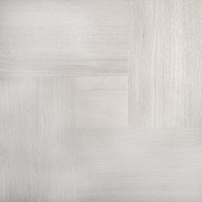 Parquet 20 x 20 Porcelain Wood Look/Field Tile in Ash