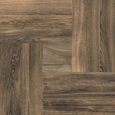 Parquet 20 x 20 Porcelain Wood Look/Field Tile in Oak